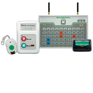 Nurse call system pager