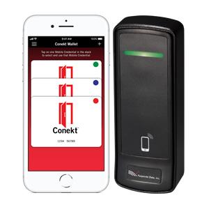 Farpointe data Conekt mobile 2.4GHz:13.56MHz reader & credentials