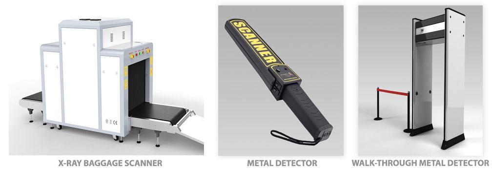 WALK-THROUGH-METAL-DETECTOR