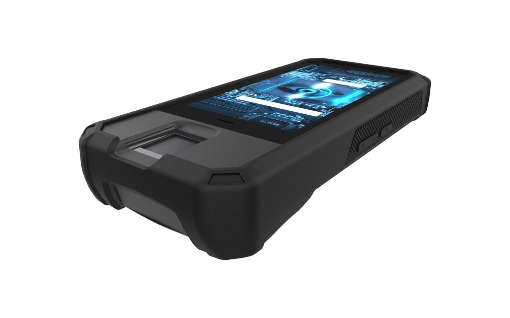 Cham-5 rugged handheld device