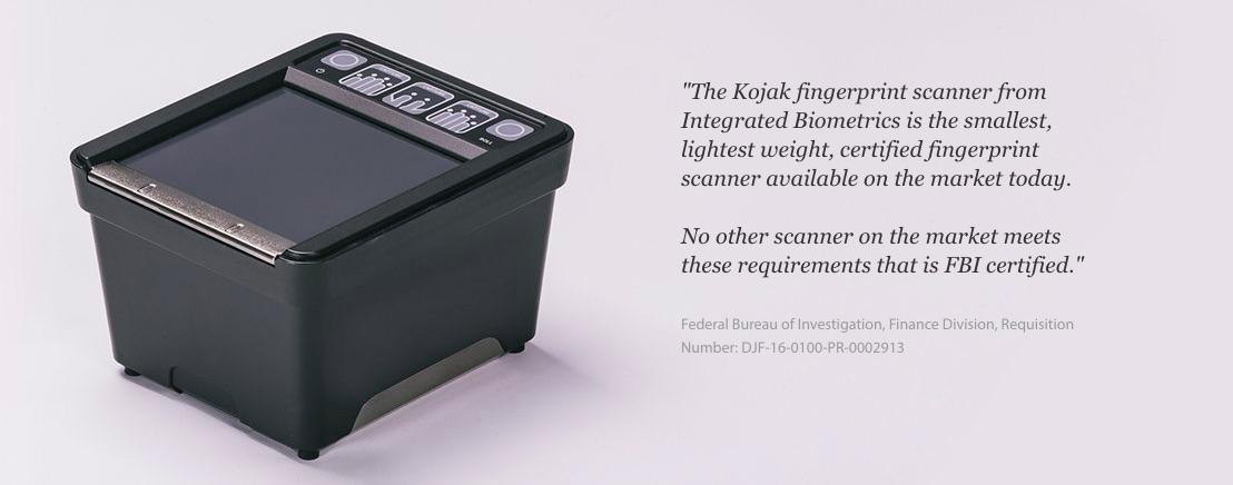 Kojak scanner